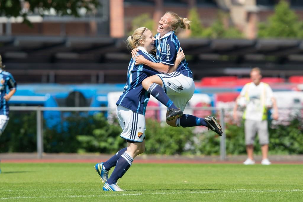 Alexandra Höglund och Mia Jalkerud